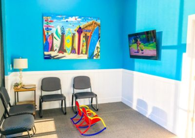 Smart Pediatric Dentistry Spanish Fork Office Lobby